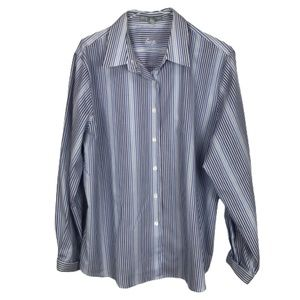 Foxcroft Wrinkle Free Shaped Fit Button Down 16